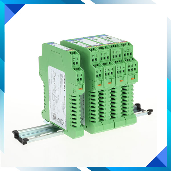 1input,2output DI,Relay output Isolated Barrier