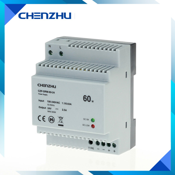 DIN Rail Tpye Power Supply 60W/24V Output